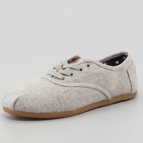 Toms Shoes | Toms Lace Up Shoes | Poshmark